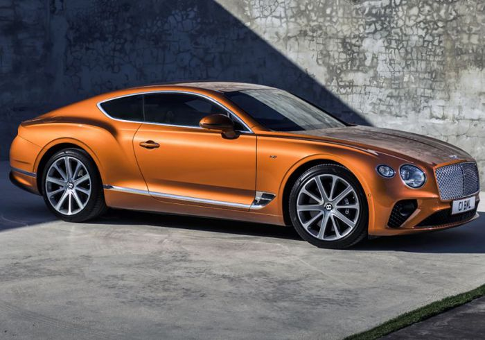 Pricing of the Bentley Continental Released in South Africa