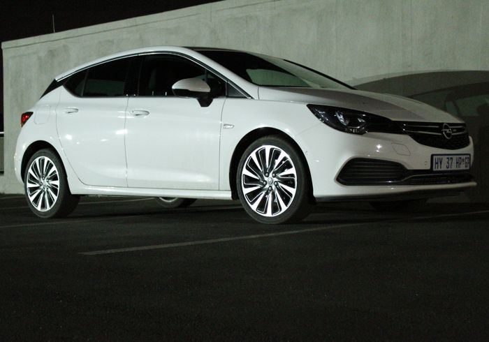 The Opel Astra Sport 1.6Turbo Automatic