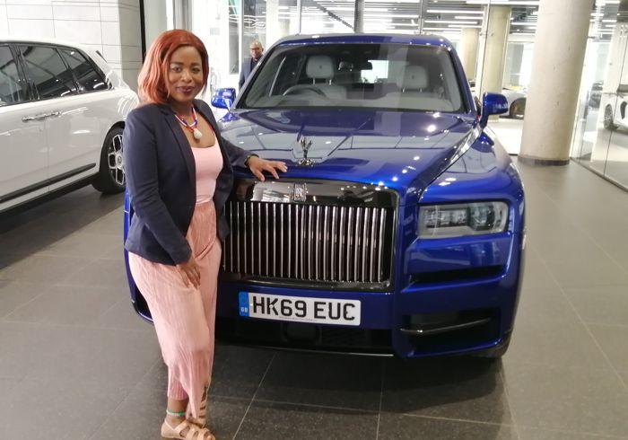 Daytona's Rolls Royce Media Driving Experience