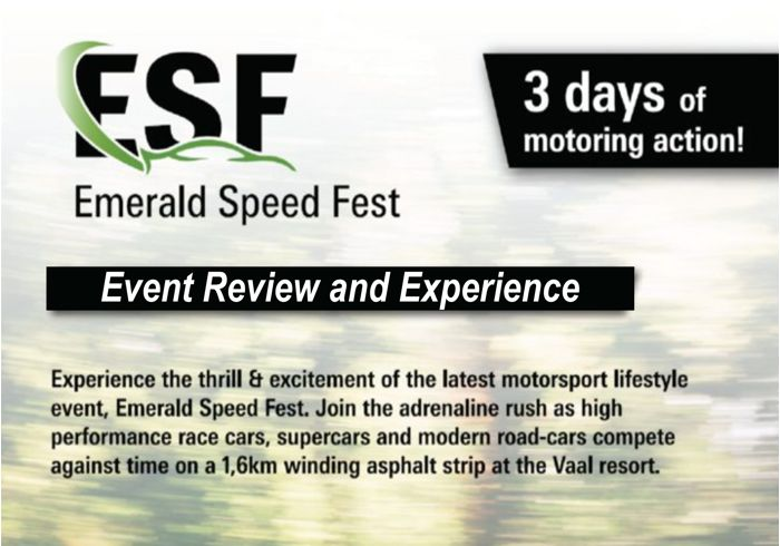 Emerald Speed Festival-Hear The Power, Feel The Sound.