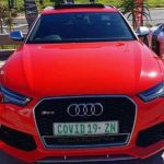 Red is For Danger-The Number Plate That Has Caused A Stir
