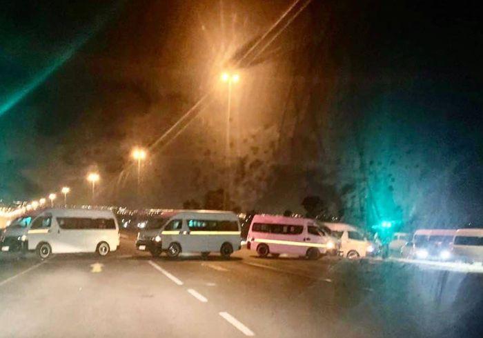 Taxi Strike Brings Public Transport To A Halt