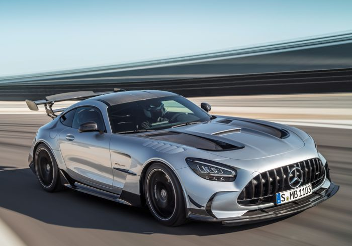Introducing Mercedes Benz-AMG's most powerful AMG V8 yet.