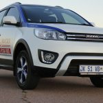 The HAVAL H1 Driven at The Gerotek Dynamic Ride and Handling Track