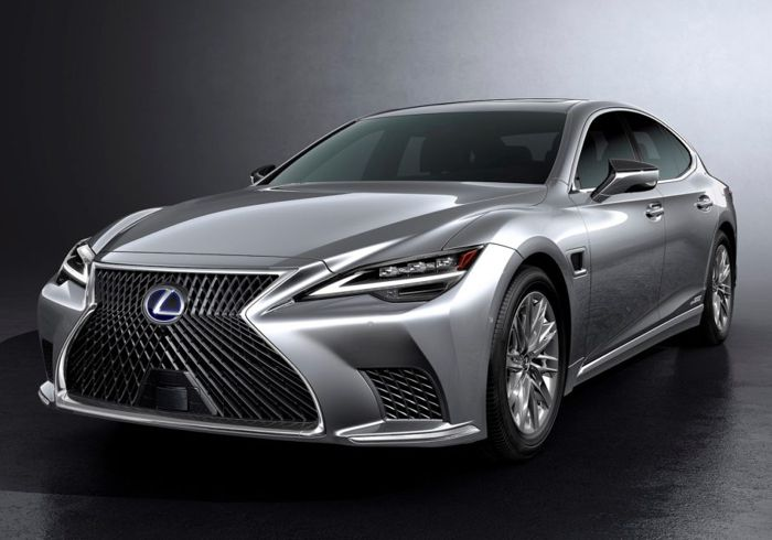 2021 Lexus LS Makes Its Facelifted Debut