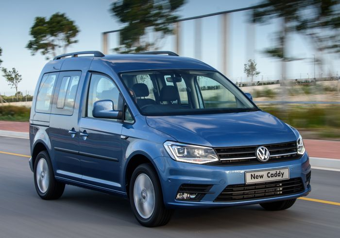 The VW Caddy shows off its many talents