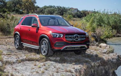 Mercedes-Benz's GLE 450 has a lot to brag about