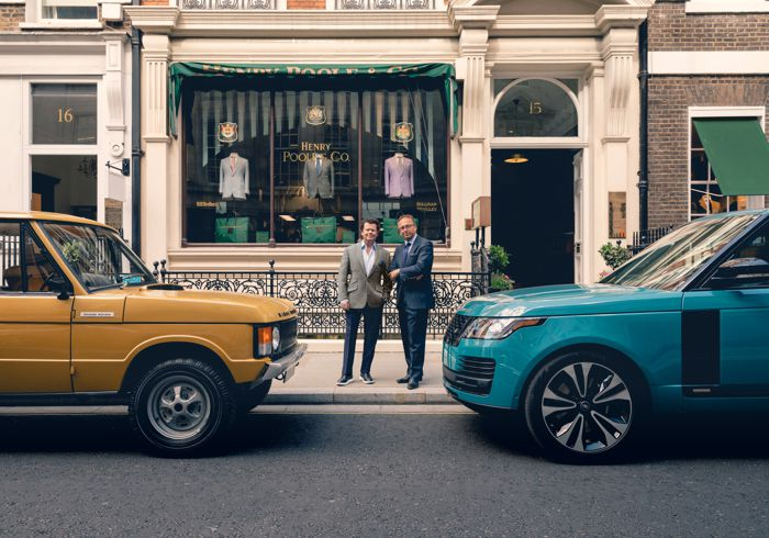 Ranger Rover Fifty marks a milestone for the British carmaker