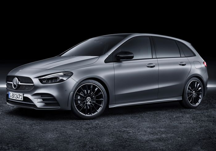 The Mercedes-Benz B200 AMG refuses to be placed in a box