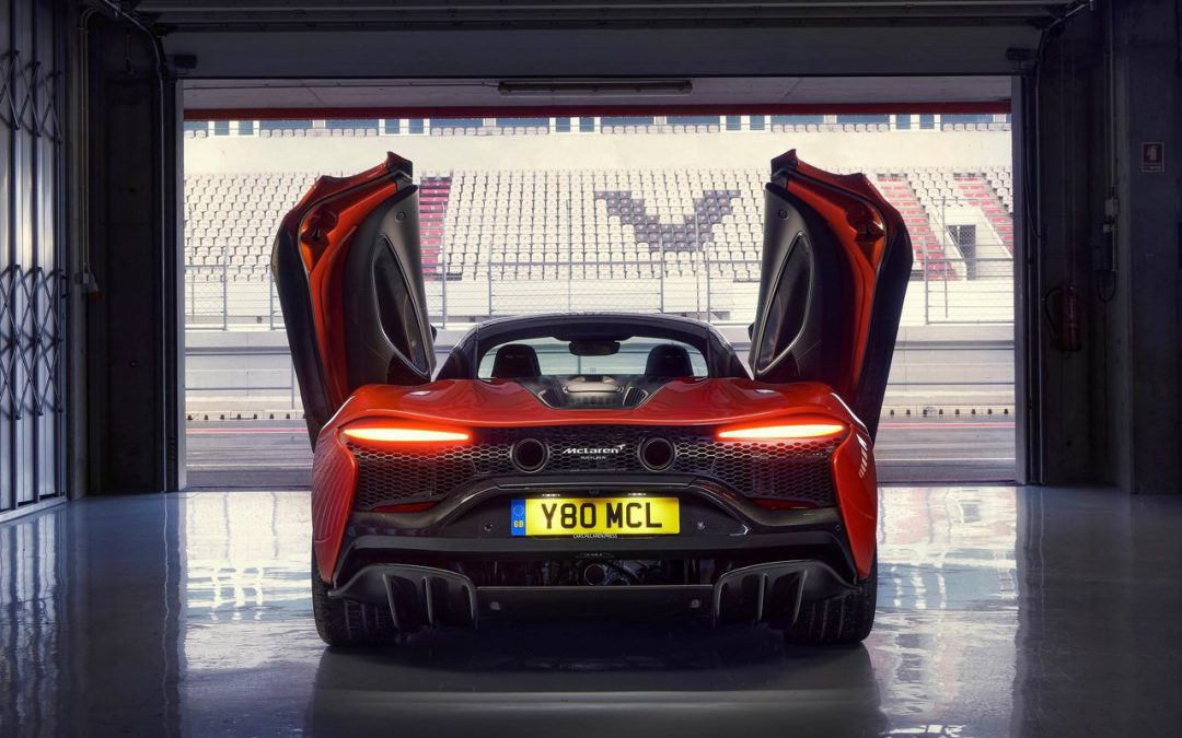 The McLaren Artura is still potent despite being a hybrid supercar