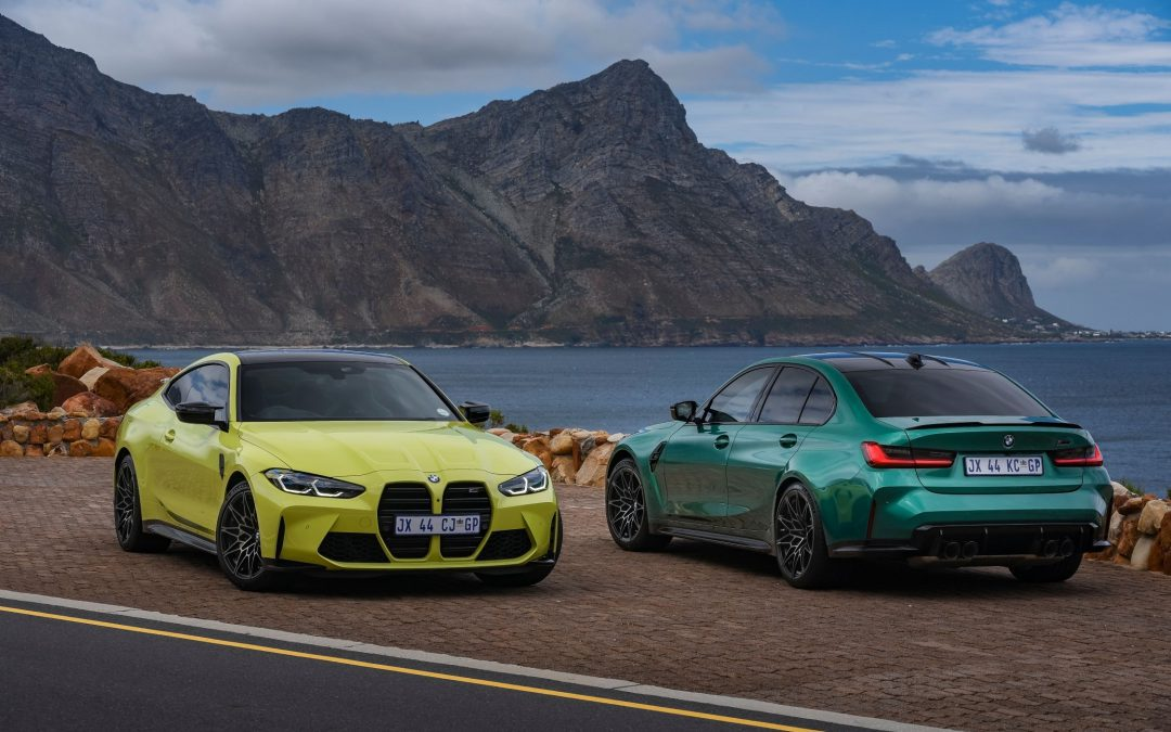 2021 BMW M3 & M4 touch down in SA