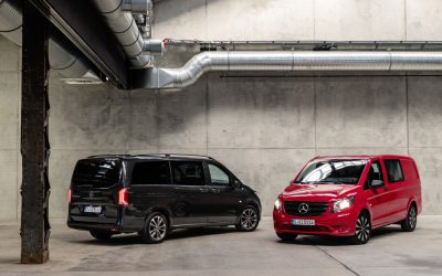 Mercedes-Benz Vito range receives a slight nip and tuck.
