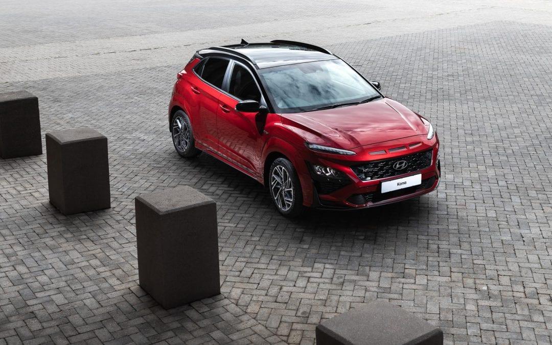 Sporty N Line enters the new Hyundai Kona range