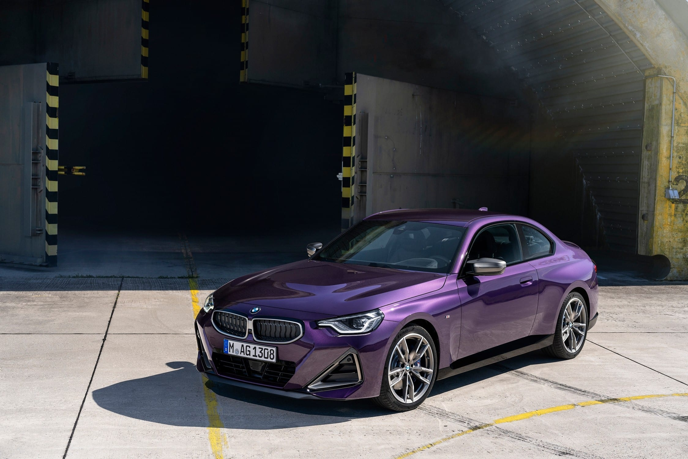 Here's a glimpse into the upcoming BMW 2 Series